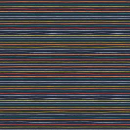 Viele bunte farbige Streifen