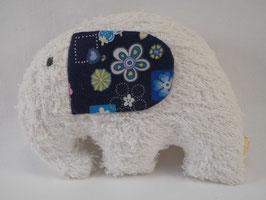 Erwin der Elefant in Weiß