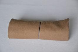 Bündchen Beige/Braun