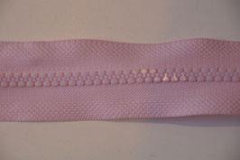 Reißverschluss, teilbar, 30cm, Farbe: Rosa