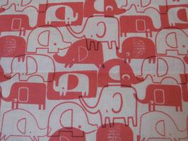 Elefantenparade in Baumwolle