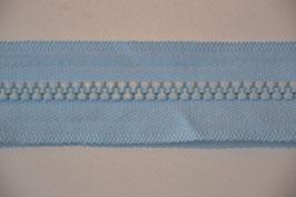 Reißverschluss, teilbar, 50cm, Farbe: Himmelblau