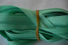 Endlosreißverschluss Insklusiv 3 Zipper Farbe: Hellgrün