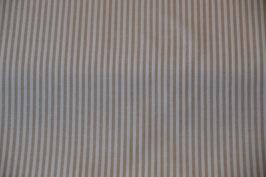 Baumwolle Webstreifen in der Farbe: Sand