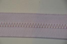 Reißverschluss, teilbar, 80cm, Farbe: Rosa
