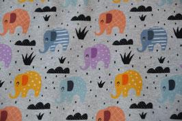 Tolle bunte Elefanten