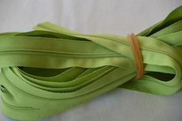 Endlosreißverschluss Insklusiv 3 Zipper Farbe: Apfelgrün