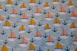 Sweat mit Segelboote und Anker