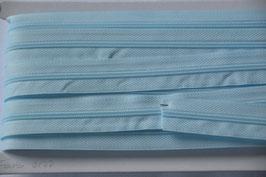 Enlosreisverschluß insklusiv 3 Zipper Farbe: Hellblau