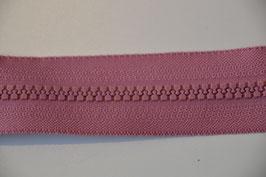 Reißverschluss, teilbar, 60cm, Farbe: Altrosa