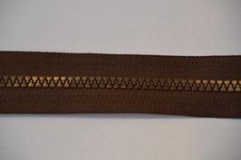 Reißverschluss, teilbar, 30cm Farbe: Schokolade