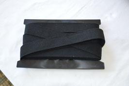 Gurtband 40mm Schwarz Reine Baumwolle