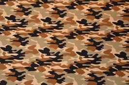 Camouflage in Braun,Grün,Beige Digitaldruck