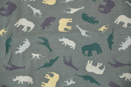 Wildlife in Dusty Grün