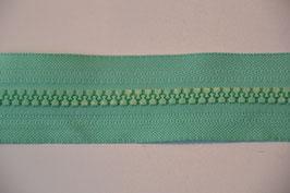 Reißverschluss, teilbar, 50cm, Farbe: Jade
