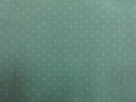 Kleine Punkte im  grünen BIO Ware