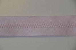 Reißverschluss, teilbar, 60cm, Farbe: Rosa