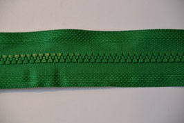 Reißverschluss, teilbar, 60cm, Farbe: Grün
