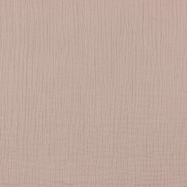 Double Gauze in Soft Rose