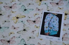 Sommer Sweat mit Schmetterlinge in bunten Farben
