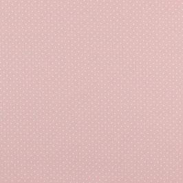 Baumwolle Rosa mit kleinen Punkten