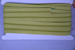 Enlosreisverschluß insklusiv 3 Zipper Farbe: KIWI