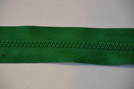 Reißverschluss, teilbar, 30cm, Farbe: Grün