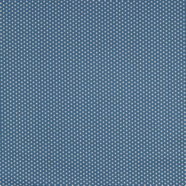 Baumwolle Jeansblau mit kleinen Sternen