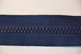 Reißverschluß, teilbar, 50cm, Farbe: Marine