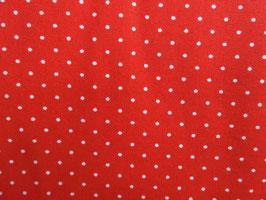 Rot/weiß gepunktet