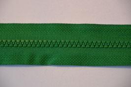Reißverschluss, teilbar, 50cm, Farbe: grün