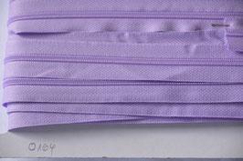 Enlosreisverschluß insklusiv 3 Zipper Farbe : Flieder