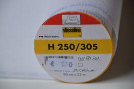 H250, 60% Polyester, 40% Cellulose,  Bügeleinlage Breite: 0,90 cm