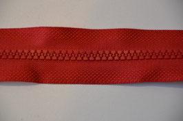 Reißverschluss, teilbar, 30cm, Farbe: Rot