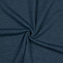 Sweat Melange Brushed Farbe: Indigo