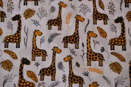 Giraffen in Senfgelb