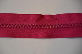 Reißverschluss, teilbar, 30cm,Farbe: Pink