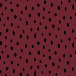 Soft Sweat in BIO Qualität in der Farbe: Dark Red