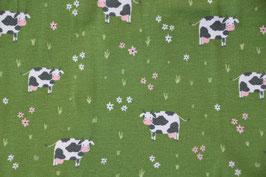 Kühe auf saftiger Weide