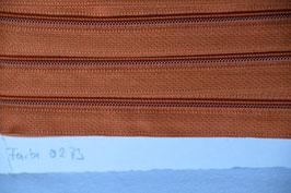 Enlosreisverschluß insklusiv 3 Zipper Farbe: Congnac