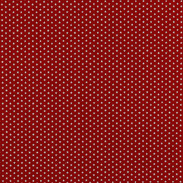 Rot mit weißen Sternen