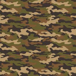 Camouflage Grün/Braun