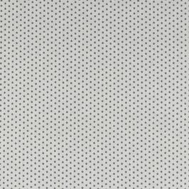Baumwolle Weiß mit kleinen Sternen
