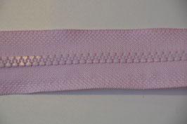Reißverschluß, teilbar, 50cm, Farbe: Rosa