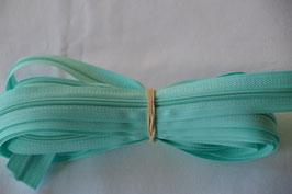Endlosreißverschluss Insklusiv 3 Zipper Farbe: Mint