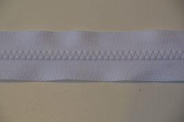 Reißverschluss, teilbar, 60cm, Farbe: Weiss