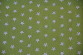 Sterne im Farbton: Lime/Weiß