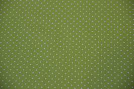 Pünktchen im Farbton: Lime/Weiß