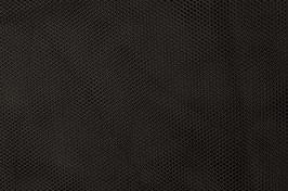 Netzstoff - Uni - schwarz