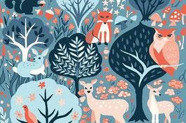 Monaluna - Twilit Forest - Baumwolle